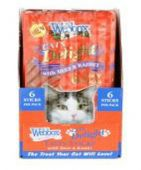 Webbox Cat Delight Tasty Sticks - 12 packs x 6 sticks - various flavours